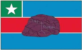 Itacoatiara, Amazonas - Image: Bandeira de Itacoatiara am