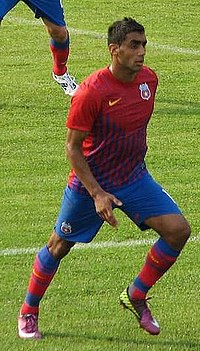 Banel Nicolita in Vointa Sibiu vs Steaua, 1-1, July 23, 2011.jpg