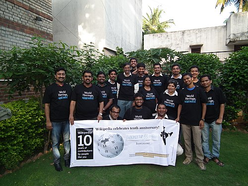 Bangalore Wikimeetup May 2011 - Group Photo - All