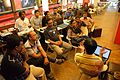 Bangla OCR and AutoWikiBrowser Discussion - Bengali Wikipedia Meetup - Kolkata 2015-10-11 5911.JPG