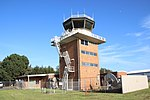 Bankstown Airport control tower up close.JPG