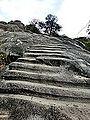 Barabar Caves - Staircase to Shrine (9224818681).jpg