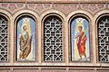 Barcelona Mare de Déu de la Bonanova church. Mosaics on the façade Saints Gervasius and Protasius.jpg