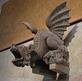 Bartolomeo ammannati (attr.), vasca con arme busdraghi e dragone, 04.JPG