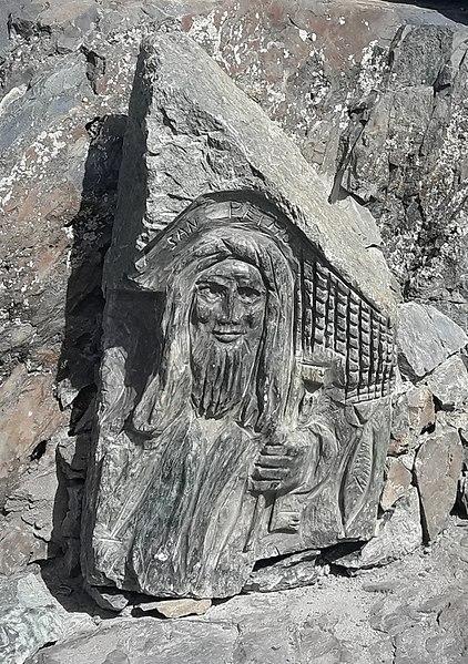 Bas relief de San Petru