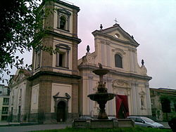 Basilica of San Tammaro at Grumo Nevano.