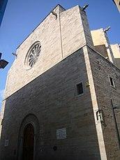 Iglesia parroquial de Santa María, Igualada (1601-1627)