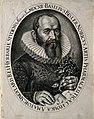Basilius Besler. Line engraving by J. Leypolt, 1612. Wellcome V0000513.jpg