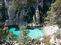 Bathing at Calanque d'En Vau.jpg