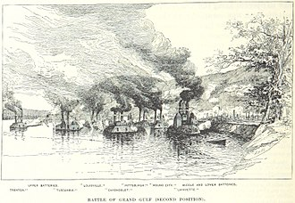 Battle of Grand Gulf - Image: Battle of Grand Gulf second position