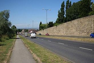 A631 road - Brecks
