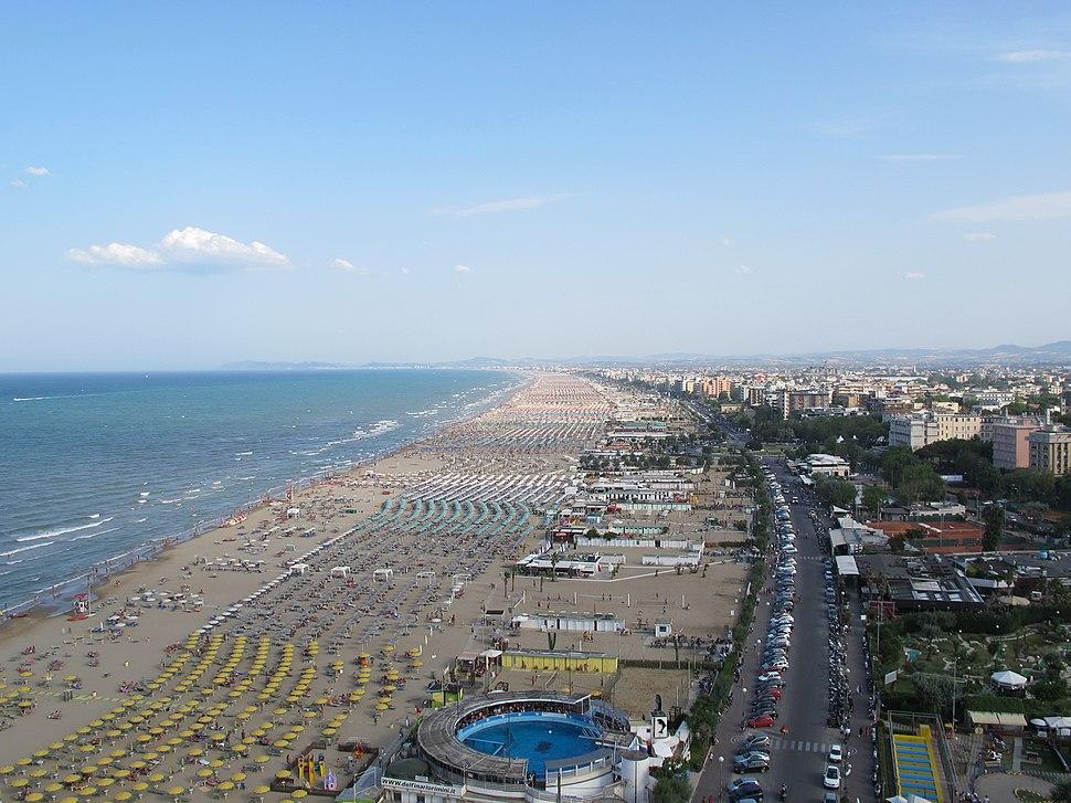 Beach of Rimini (14-07-2012)