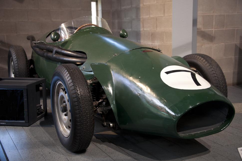 Beaulieu National Motor Museum Connaught Type B (1955) 15-10-2011 13-10-02