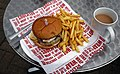 Beefburger - A114 Whips Cross Road café hut - Waltham Forest London England.jpg