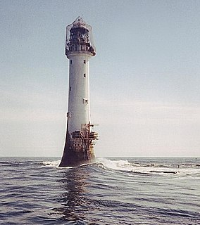 Bell Rock Lighthouse lighthouse off the coast of Angus, Scotland