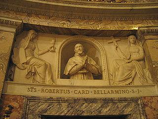 Bust of Cardinal Roberto Bellarmine