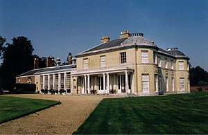 George Harris, 1st Baron Harris - Belmont House, Throwley, Kent. The home of General Harris.