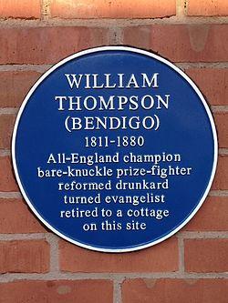 Bendigo plaque