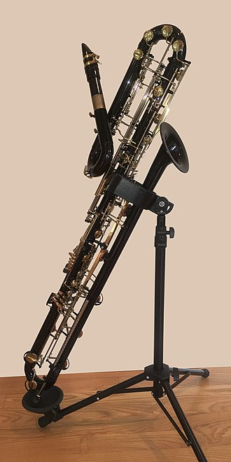 Contrabass clarinet - Benedikt Eppelsheim contrabass clarinet