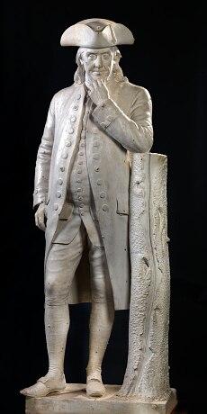 Benjamin Franklin by Hiram Powers