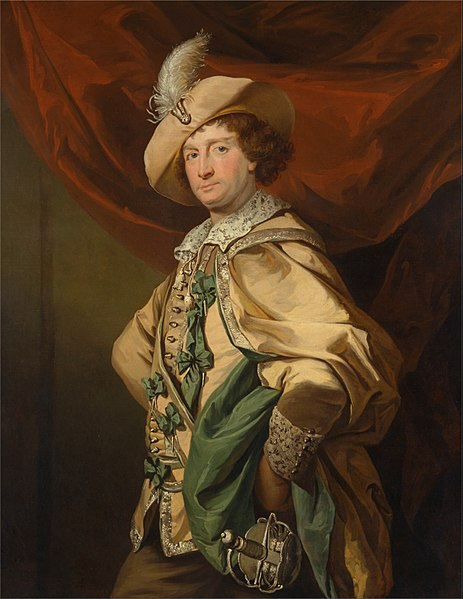 "File:Benjamin van der Gucht - Henry Woodward as Petruchio in Catherine and Petruchio, a version by Garrick of ""The Taming of the S... - Google Art Project.jpg"
