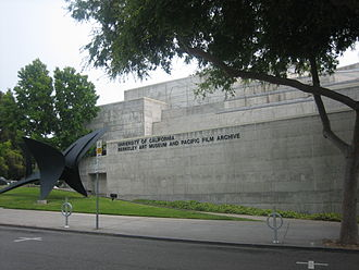 Berkeley Art Museum and Pacific Film Archive - The former Berkeley Art Museum and Pacific Film Archive main building on Bancroft Way, designed by Mario Ciampi.