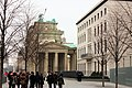 Berlin-Mitte, the Brandburg gate from south.JPG