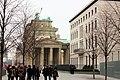 Berlin-Mitte, the Brandburg gate from south.JPG