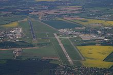 Aerial View Prior To The Start Of Construction Berlin Brandenburg Airport