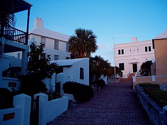 History of Bermuda - The State House, the building which housed the House of Assembly from 1620 until 1815
