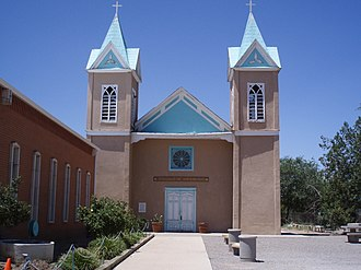Bernalillo, New Mexico - Image: Bernalillo church