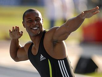 Bernard Williams (sprinter) - Williams during Keien Meeting 2007