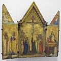Bernardo daddi, trittico con crocifissione, annunciazione e santi, 1335-40 ca..JPG