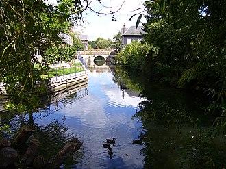 Charentonne - The Charentonne in Bernay
