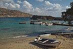 Berth of fishing boats in Lefkos. Karpathos, Greece.jpg