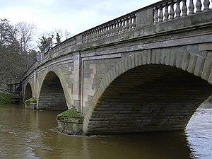 Bewdley Bridge - Bewdley Bridge from Severnside North