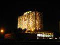 Biblioteca central de ciudad universitaria de noche.jpg