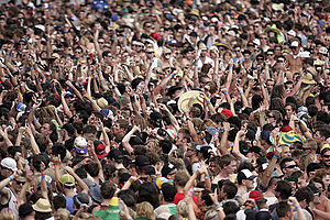 Wave (audience) - Big Day Out, 2013 in Sydney, Australia