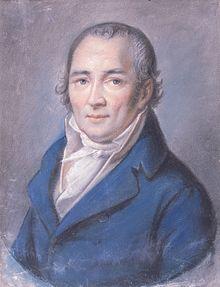 Johann Peter Hebel, Pastell von Philipp Jakob Becker (1795) (Quelle: Wikimedia)