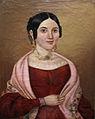 Bildnis einer Dame im roten Kleid 19Jh.jpg
