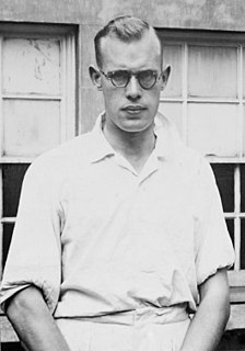 Bill Bowes English cricketer