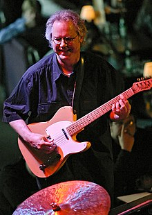 Frisell with the B3 Trio at Jazz Alley, Seattle, April 24, 2004