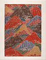 Bingata textile fragment- cherry blossoms, waves, mountains motifs - Google Art Project.jpg