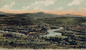 Hugh J. Chisholm - View of Rumford Falls in 1905