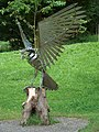 Bird of Prey - modern sculpture. - geograph.org.uk - 558319.jpg