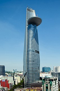 Bitexco Financial Tower architectural structure