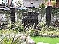 Black stone monument at Kendriya Muslim Sahitya Sangsad.jpg