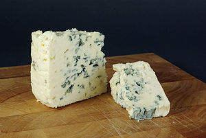 blue cheese Français : Bleu