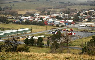 Blayney, New South Wales - Image: Blayney NSW Looking Southwards