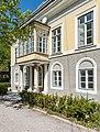 Bleiberg-Noetsch 2 ehem Gewerkenhaus Theresienhof S-Seite mit Veranda 29042015 2909.jpg